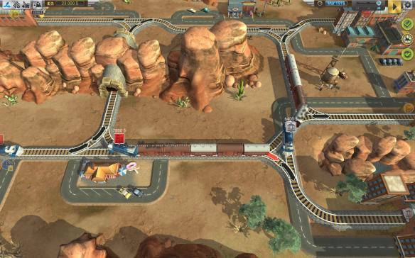 《火车山谷》