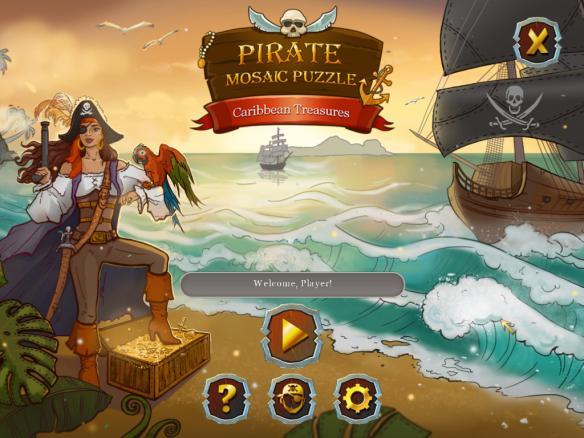 《海盗马赛克拼图:加勒比宝藏》
