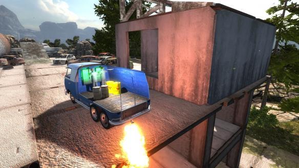 《房车飞跳模拟》