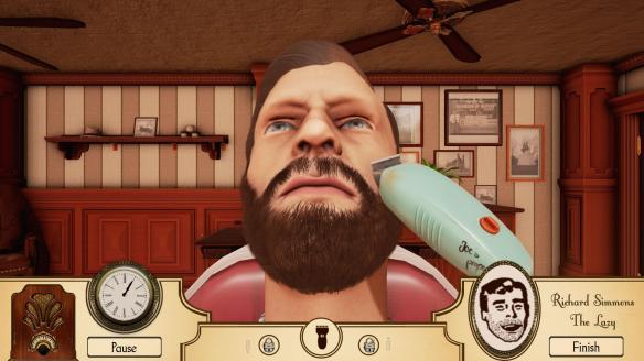 《模拟理发店》
