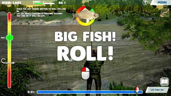 《3D渔夫钓鱼》