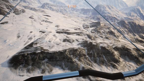 《三角滑翔翼模拟》