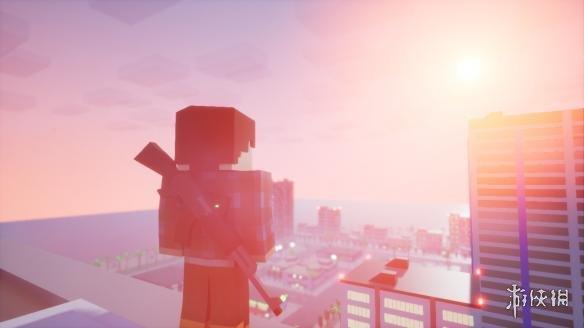 《方块战士:开放世界游戏》