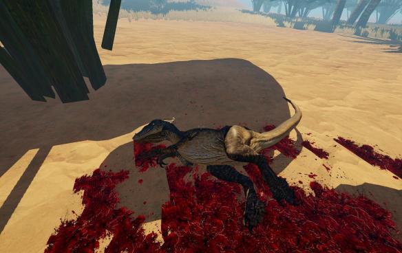 《恐龙猎杀第一滴血》