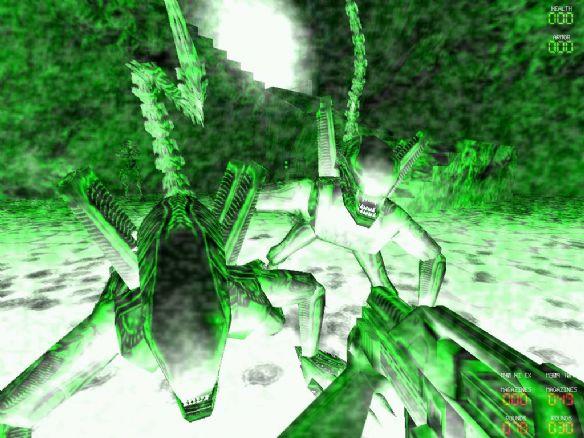 《异形大战铁血战士2000经典版》