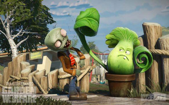 《植物大战僵尸:花园战争》