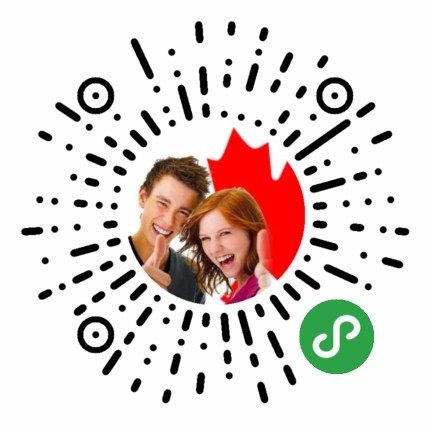 加拿大留学生资讯二维码