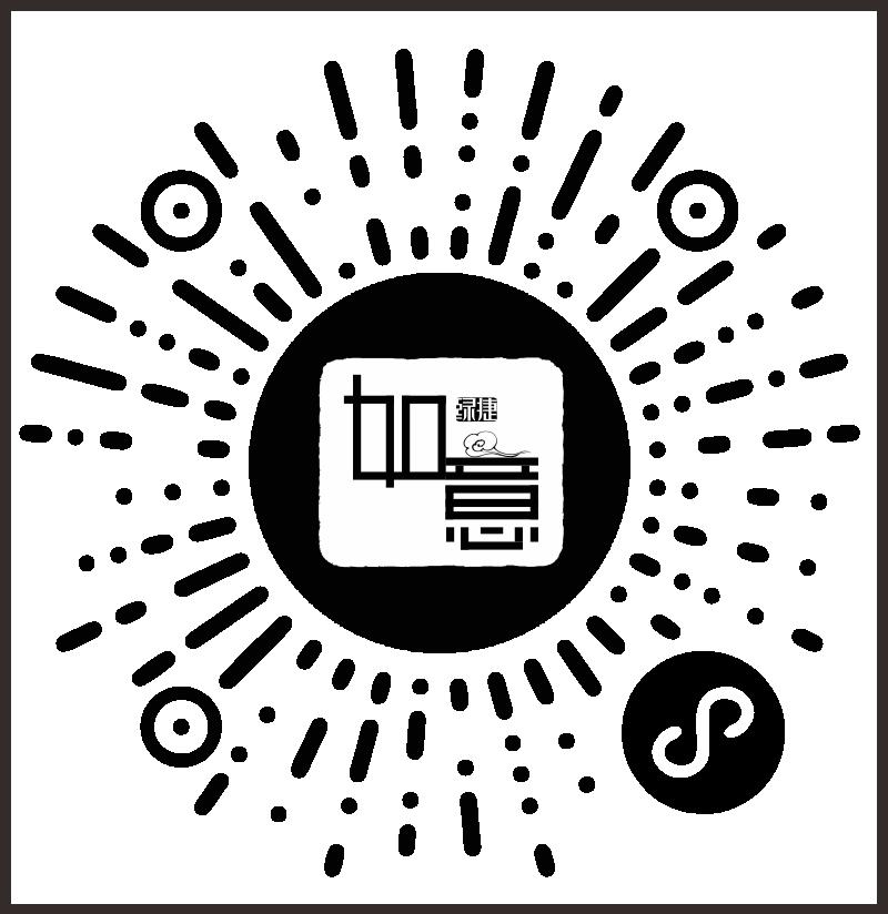 中式原木整装定制二维码