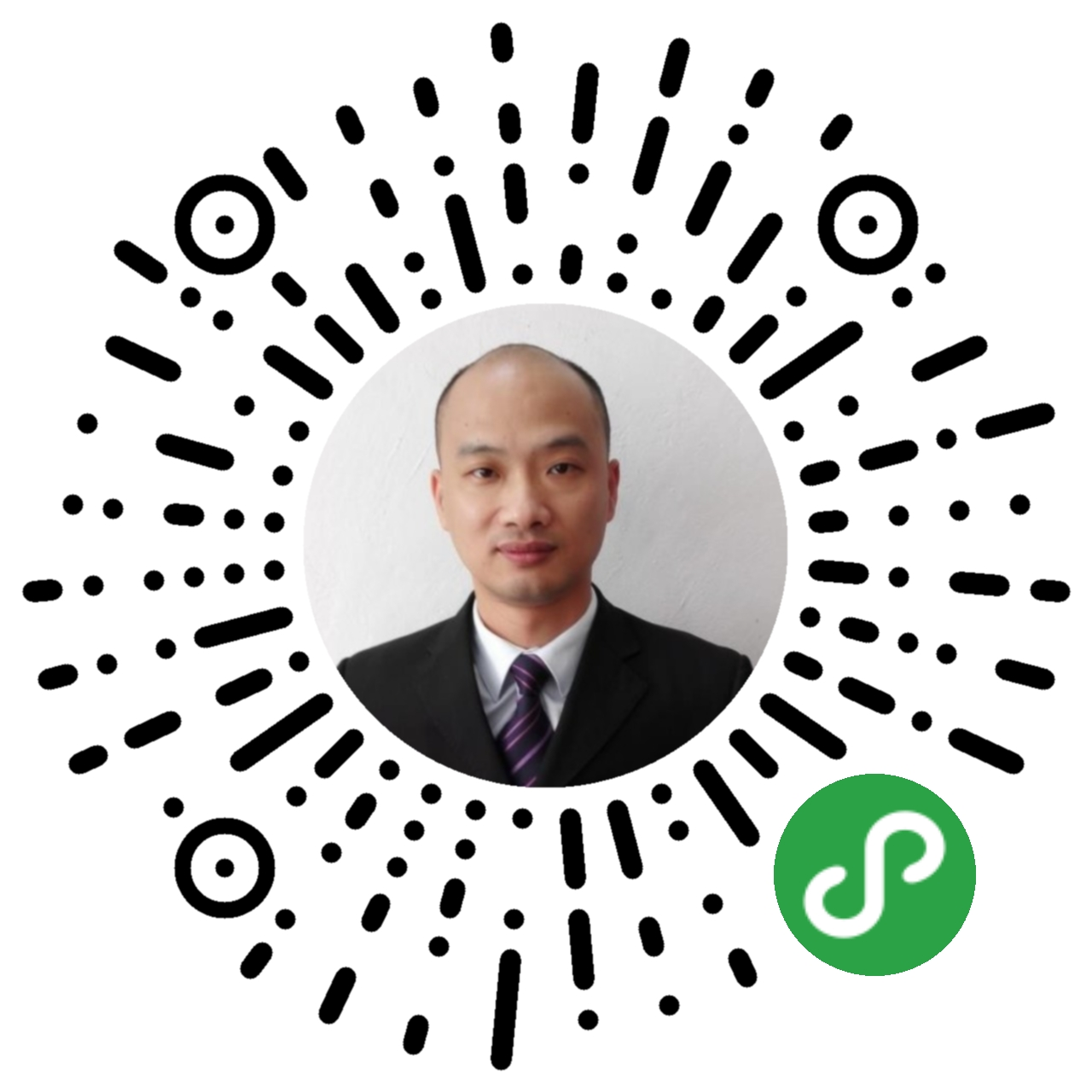 江西景德镇知名律师江晓辉二维码