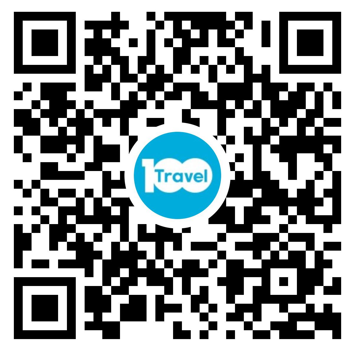百国旅游签证二维码