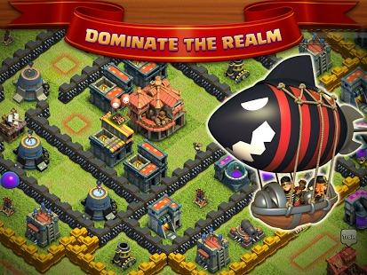 华军软件园 软件分类 android软件 游戏 其它游戏 部落战斗  软件截图