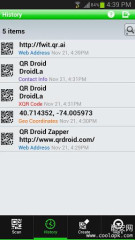 二维码识别:QR Droid