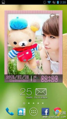 桌面动画相框Widget+:Animated Photo Frame Widget +
