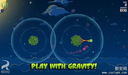 愤怒的小鸟太空版:Angry Birds Space