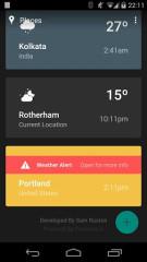 天气时间线:Weather Timeline