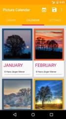 2014-15年图片日历:Picture Calendar 2014 / 2015