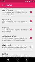 按键控制:KeyCut