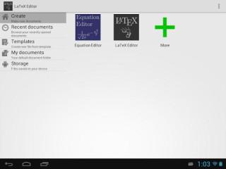 LaTeX编辑器:LaTeX Editor
