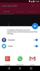 心跳检测:runtastic Heart Rate PRO