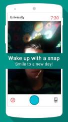 刷脸闹钟:Snap Me Up
