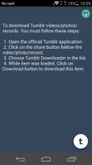 Tumblr下载器Tumbloader