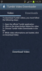 Tumblr视频下载:Tumblr Video Downloader