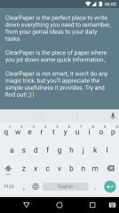 白纸ClearPaper
