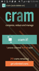 图片压缩Cram
