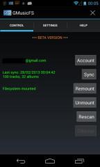 谷歌音乐文件系统GMusicFS