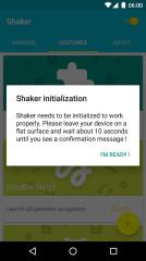 摇晃手势Shaker