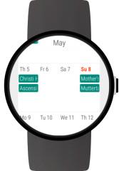 手表日历:Wear Calendar