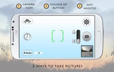 口哨相机:Whistle Camera