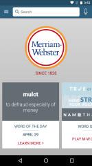 韦氏官方词典:Dictionary-M-W Premium