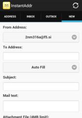 临时邮箱:Instant Email Address