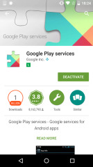 谷歌框架信息查看:Play Services Help