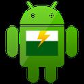 桌面小绿人电池...