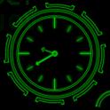 Neon Clock GL Live wallpaper 3