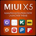 MIUI X5 HD Apex/Nova/ADW Theme 3.4.0