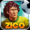 济科踢足球:Zico...