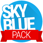 天蓝主题包:Sky Blue PACK - PA/CM11 Themes 1.4.1
