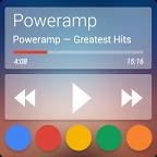 Poweramp 透明主题1.0.2