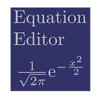 LaTeX公式编辑器:Equation Editor