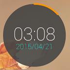 时钟小部件ClockWidget 1