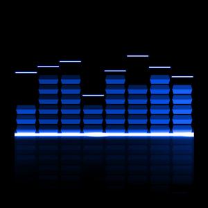 音乐光芒动态桌...