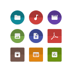Solid Explorer图标包:Unfolded Icons Solid Explorer 1