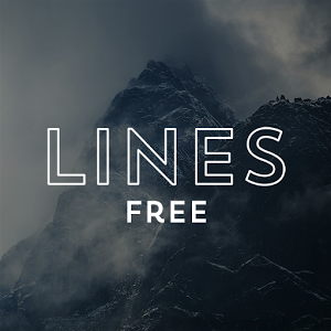 Lines Free - Icon Pack图标包