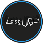 LessUgly Blue CM12.1 Theme