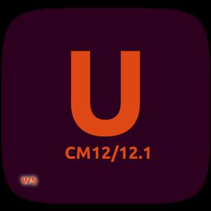 CM12/12.1 Ubuntu Dark 4.7