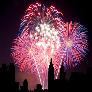 城市烟花动态壁纸:City Fireworks 6.6