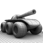 六轮坦克:Six Wheels and a Gun 3.1